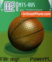 Meridian Ball Final theme screenshot