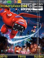 Big Hero 6 Disney es el tema de pantalla