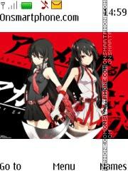 Akame ga Kill theme screenshot