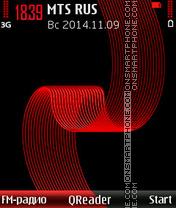 Red-Tape theme screenshot