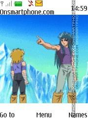 Saint Seiya theme screenshot