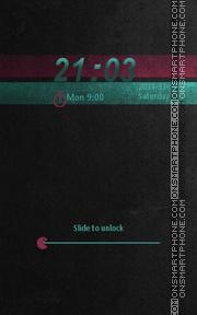 Locker Theme55 theme screenshot