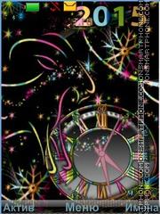 2015 year colors theme screenshot