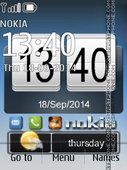 Simple Digital theme screenshot