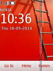 Redlight Wall theme screenshot