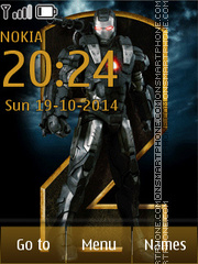 Iron man 2 02 es el tema de pantalla