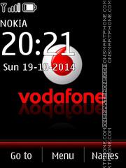 Vodafone 06 es el tema de pantalla