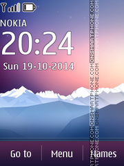 Huawei Touch Type theme screenshot