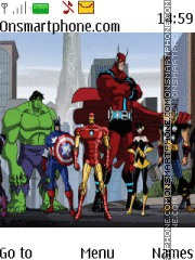 Avengers es el tema de pantalla