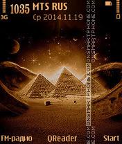 Old Egypt es el tema de pantalla