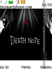 Death Note theme screenshot