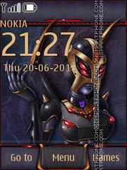 Cyber Monster 01 Theme-Screenshot
