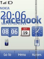 Facebook 13 es el tema de pantalla