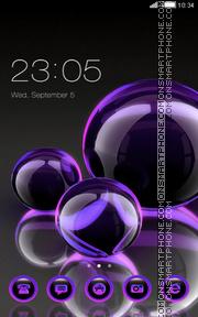 Glass Ball es el tema de pantalla