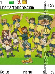 Inazuma Eleven theme screenshot