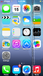 iOS 7 Icons theme screenshot