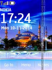 Sultan Ahmed Mosque in Istanbul es el tema de pantalla