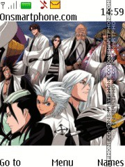 Bleach Captains theme screenshot