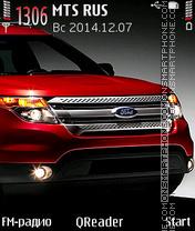 Ford Explorer es el tema de pantalla