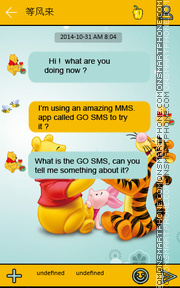Winnie and friends theme screenshot