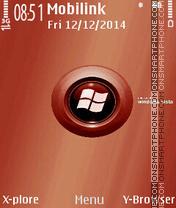 Window Vista theme screenshot