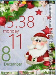 Santa Claus theme screenshot
