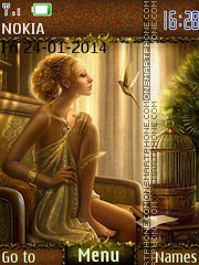 Fantasy Painting Theme-Screenshot