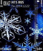 Snowflakes es el tema de pantalla