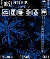 Snowflakes+ es el tema de pantalla
