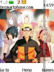 Naruto Sannin es el tema de pantalla