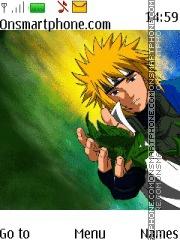 Naruto Minato theme screenshot