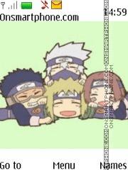 Kakashi Gaiden Naruto theme screenshot