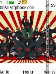 Akatsuki Naruto theme screenshot