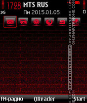 Red-Wall es el tema de pantalla