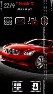 Infiniti Car es el tema de pantalla
