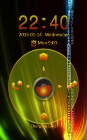 Locker Theme77 theme screenshot