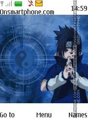 Sasuke Uchiha Naruto theme screenshot