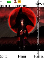 Itachi Uchiha Naruto theme screenshot