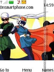 Dragon Ball Z theme screenshot