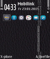 Leather Anna Icons es el tema de pantalla
