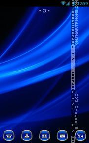 Blue Design es el tema de pantalla