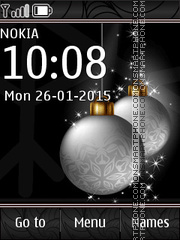 Christmas Balls 02 theme screenshot