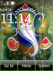 Ganesha 08 theme screenshot