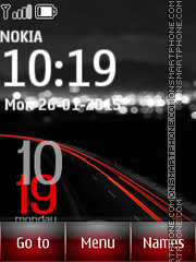Xiaomi Widget Clock theme screenshot