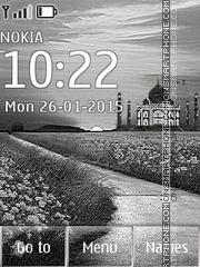Taj Mahal 13 es el tema de pantalla