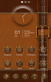 Gold tema screenshot