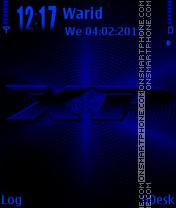 Blue XP es el tema de pantalla