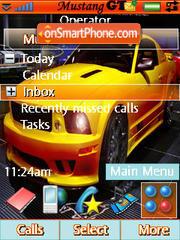 Mustang Gtr theme screenshot