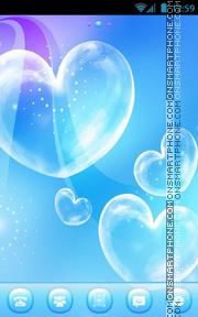 Love Bubble es el tema de pantalla