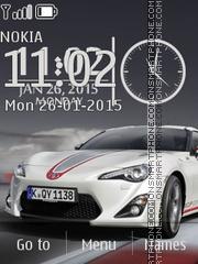 Toyota 04 es el tema de pantalla